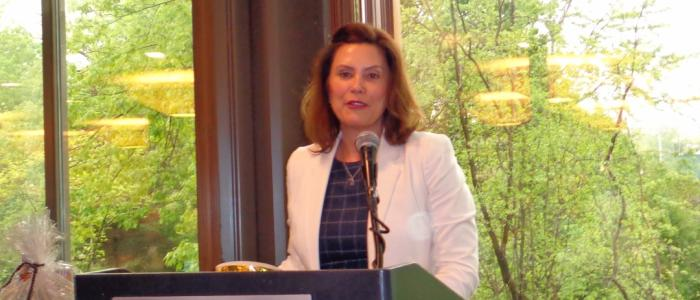 Gubernatorial Candidate Gretchen Whitmer Speaks to the General Council May 19, 2018
