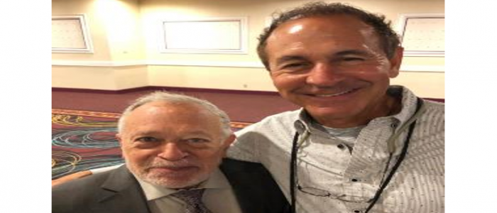 John and Robert Reich at OPEIU's 28th Convention.